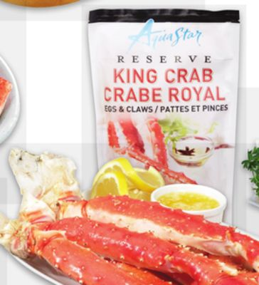 Aqua Star Reserve King Crab Legs & Claws