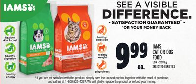 Iams Cat Or Dog Food
