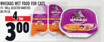 Whiskas Wet Food For Cats