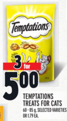 Temptations Treats For Cats