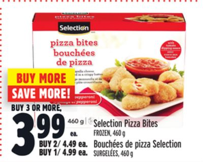 Selection Pizza Bites