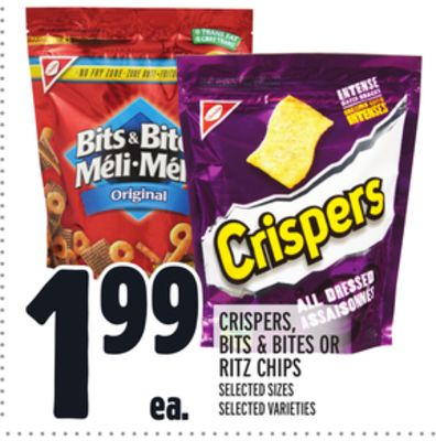 Crispers - Bits & Bites Or Ritz Chips