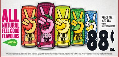 Peace Tea Iced Tea