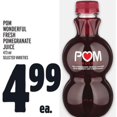 POM Wonderful Fresh Pomegranate Juice
