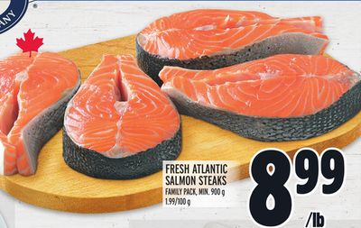 True North Fresh Atlantic Salmon Steaks