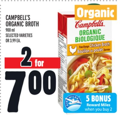 Campbell's Organic Broth