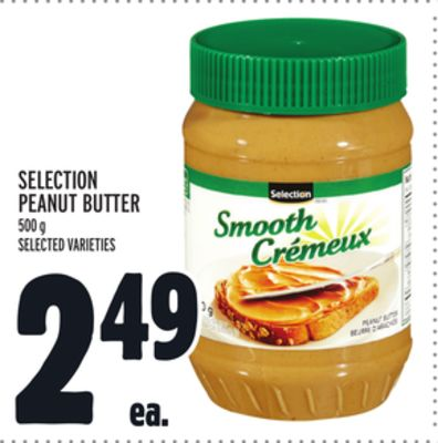 Selection Peanut Butter