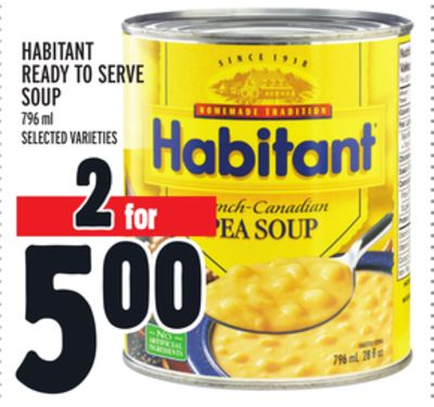 Habitant Ready To Serve Soup