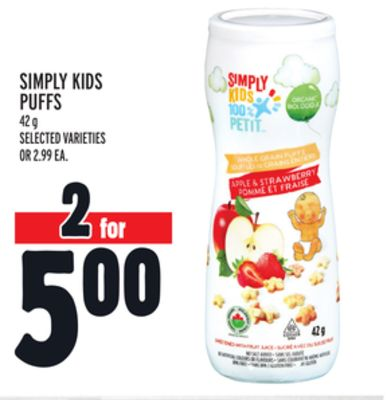 Simply Kids Puffs