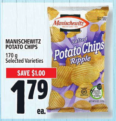 Manischewitz Potato Chips