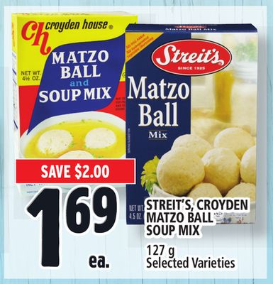 Streit's - Croyden Matzo Ball Soup Mix