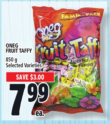 Oneg Fruit Taffy