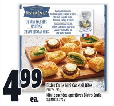 Bistro Emile Mini Cocktail Bites
