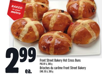 Front Street Bakery Hot Cross Buns