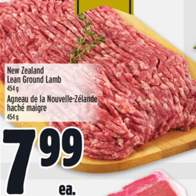 New Zealand Lean Ground Lamb