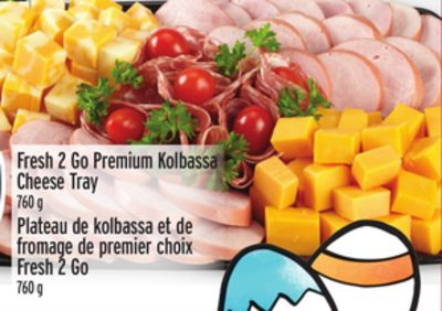 Fresh 2 Go Premium Kolbassa Cheese Tray