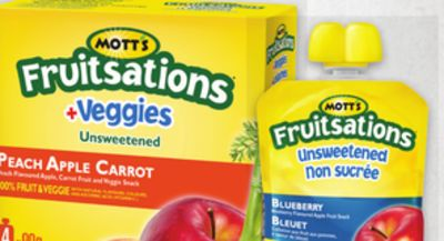 Mott's Fruitsations Fruit Snacks