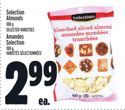 Selection Almonds