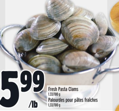 Fresh Pasta Clams