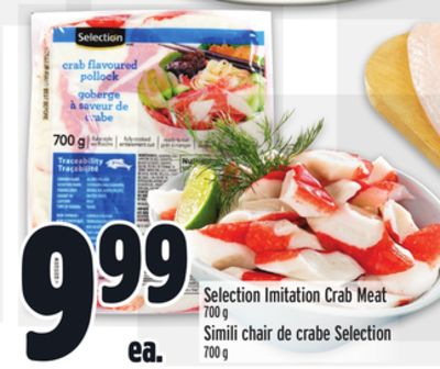 Selection Imitation Crab Meat