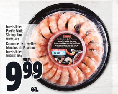 Irresistibles Pacific White Shrimp Ring