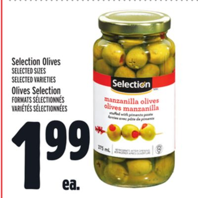 Selection Olives