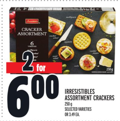 Irresistibles Assortment Crackers