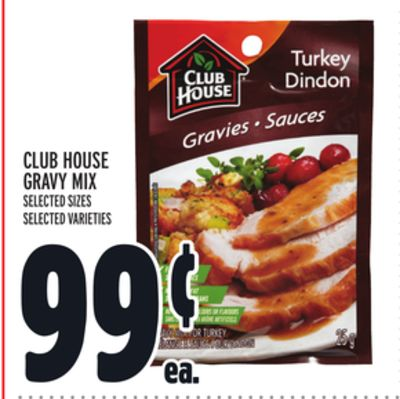 Club House Gravy Mix