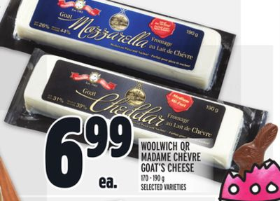 Woolwich Or Madame Chèvre Goat's Cheese