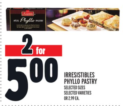 Irresistibles Phyllo Pastry
