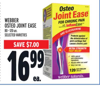 Webber Osteo Joint Ease