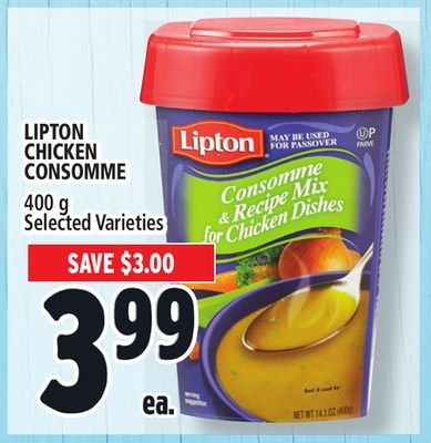 Lipton Chicken Consomme