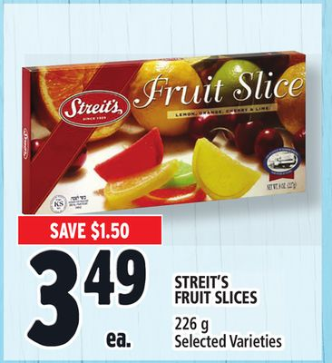 Streit's Fruit Slices