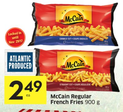 how to cook mccain fries