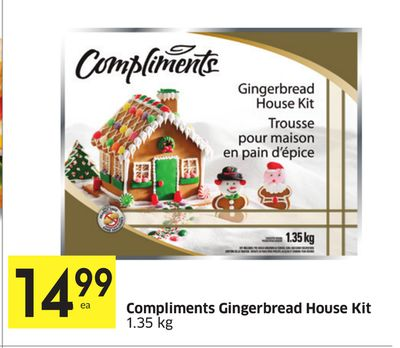 Gingerbread House Cake With Brownie Mix