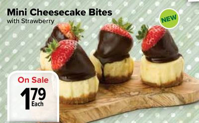 Delivery estimates, taxes, and fees are based on ZIP Code. Club Pickup orders are based on your club's current price and item availability on the day of payment. Delicous Chocolate Enrobed Cheesecake Bites A variety of 3 favorite flavors: New York, Turtle and Strawberry Made with real crème.