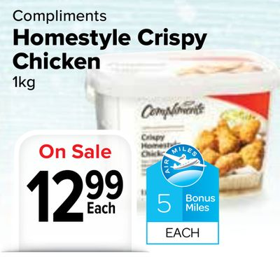 Compliments Homestyle Crispy Chicken On Sale
