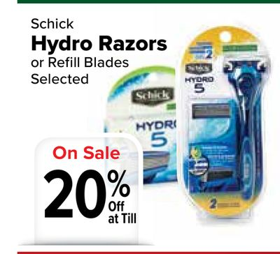 how to change blade on schick hydro 5