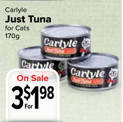 Carlyle Cat Food For Sale