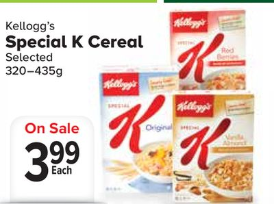 special k cereal on sale