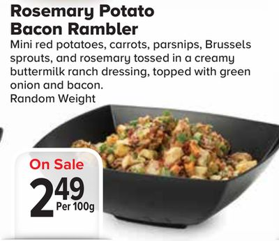 Rosemary Potato Bacon en solde cette semaine | Salewhale.ca