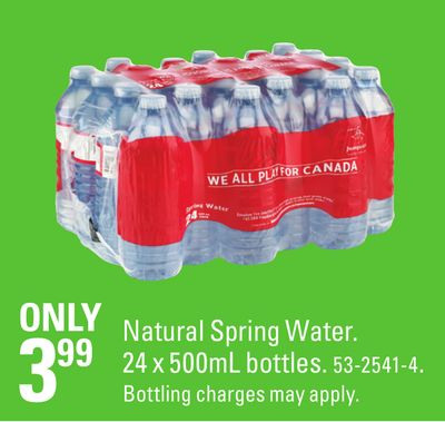 Is Real Canadian Natural Spring Water Distilled