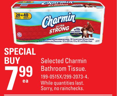 Selected Charmin Bathroom Tissue