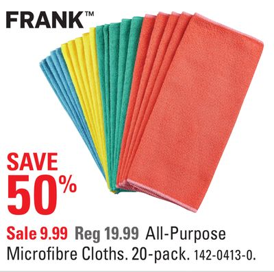 All-purpose Microfibre Cloths