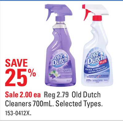 Old Dutch Cleaners 700ml