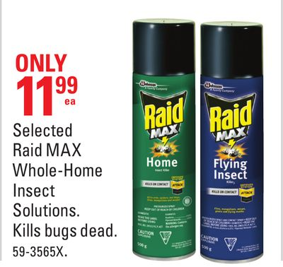 Selected Raid Max Whole-home Insect Solutions