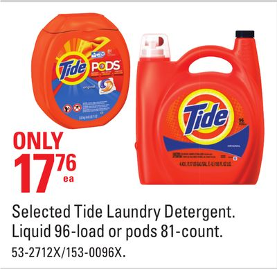 Selected Tide Laundry Detergent