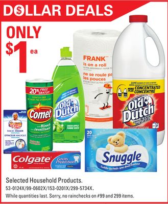 Selected Household Products
