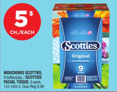 Scotties tissues coupon july 2018
