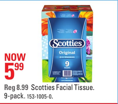Scotties Facial Tissue
